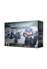 Warhammer 40K Space Marines Assault Intercessor + Paint Set