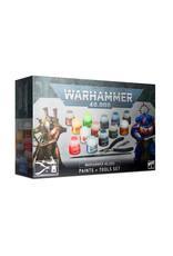 Warhammer 40K Warhammer 40,000 Paints + Tools Set