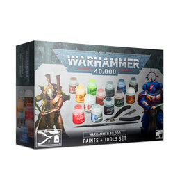 Warhammer 40K Warhammer 40,000 Paints + Tools Set