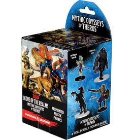 Wiz Kids Dungeons & Dragons Fantasy Miniatures: Icons of the Realms Set 16 Mythic Odysseys of Theros Booster