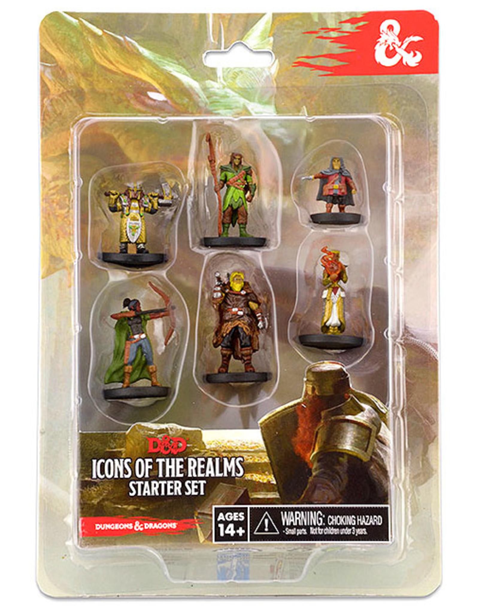 Wiz Kids D&D Fantasy Miniatures: ICR Starter Set