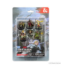 Wiz Kids Dungeons & Dragons Fantasy Miniatures: Icons of the Realm Epic Level Starter Set