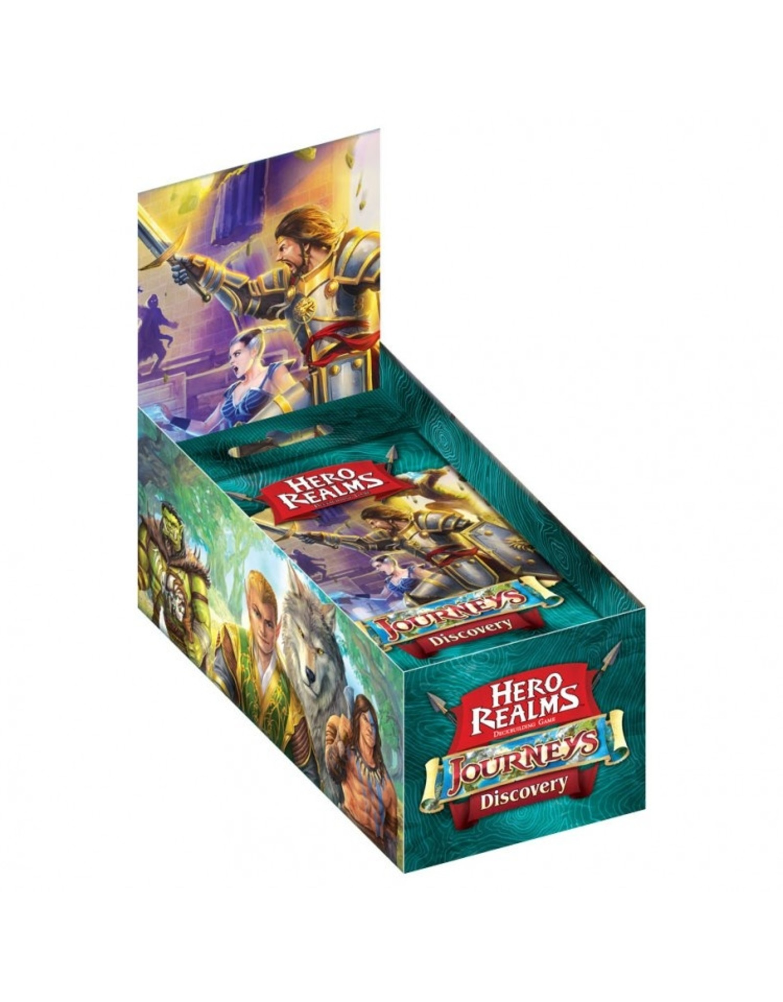 White Wizard Games Hero Realms: Journeys:Discovery