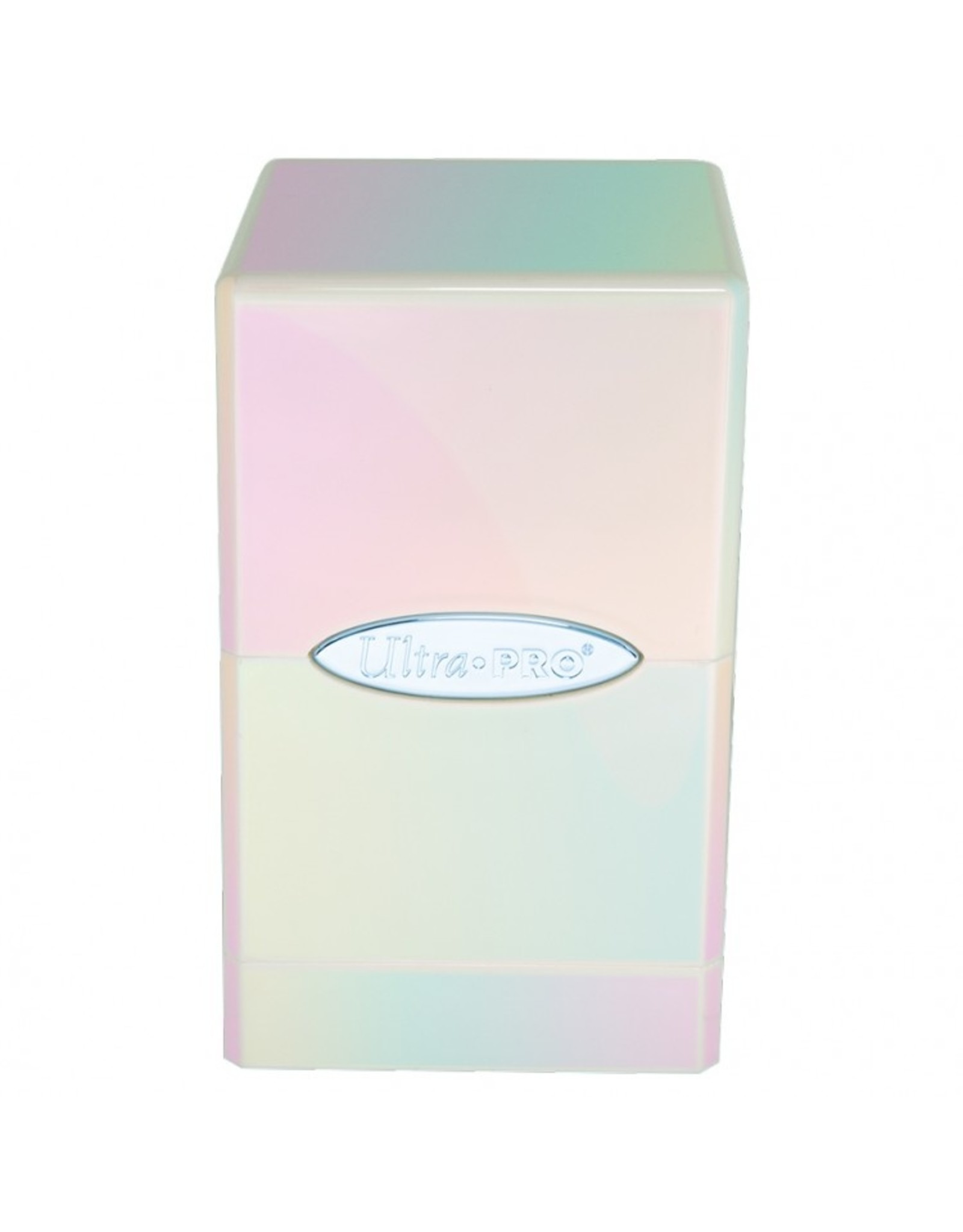 Ultra Pro Deck Box: Satin Tower: Hi-Gloss Iridescent