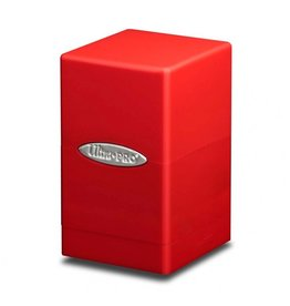 Ultra Pro Deck Box: Satin Tower Red