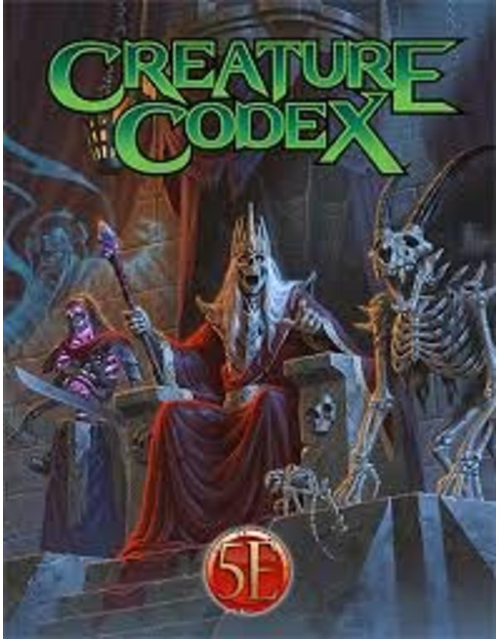 Kobold Press 5E: Creature Codex