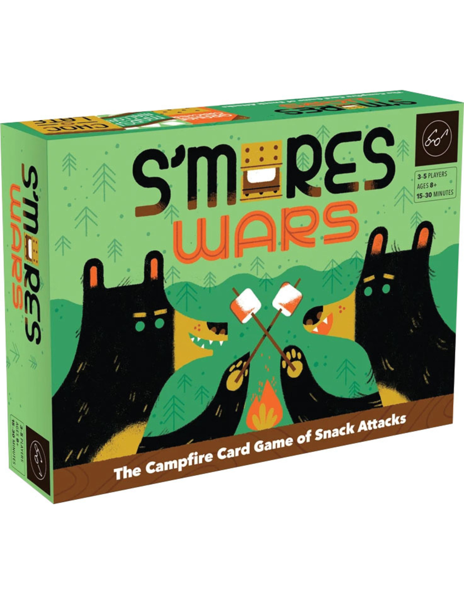 Chronicle Books S`mores Wars: The Campfire Card Game of Snack Attacks