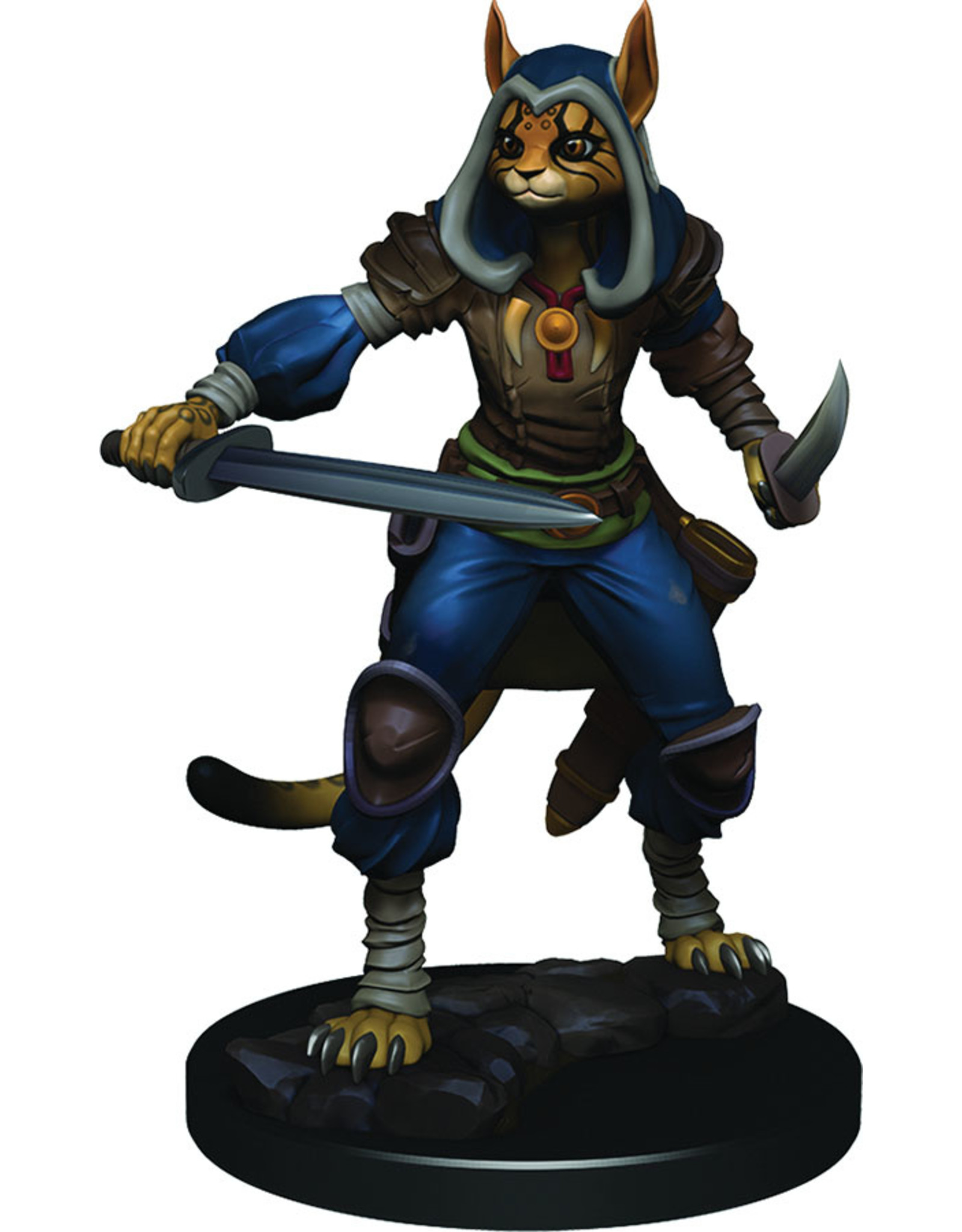 Wiz Kids D&D ICR Premium Figures W3 Female Tabaxi Rogue
