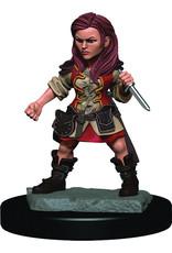 Wiz Kids D&D ICR Premium Figures Halfling Female Rogue