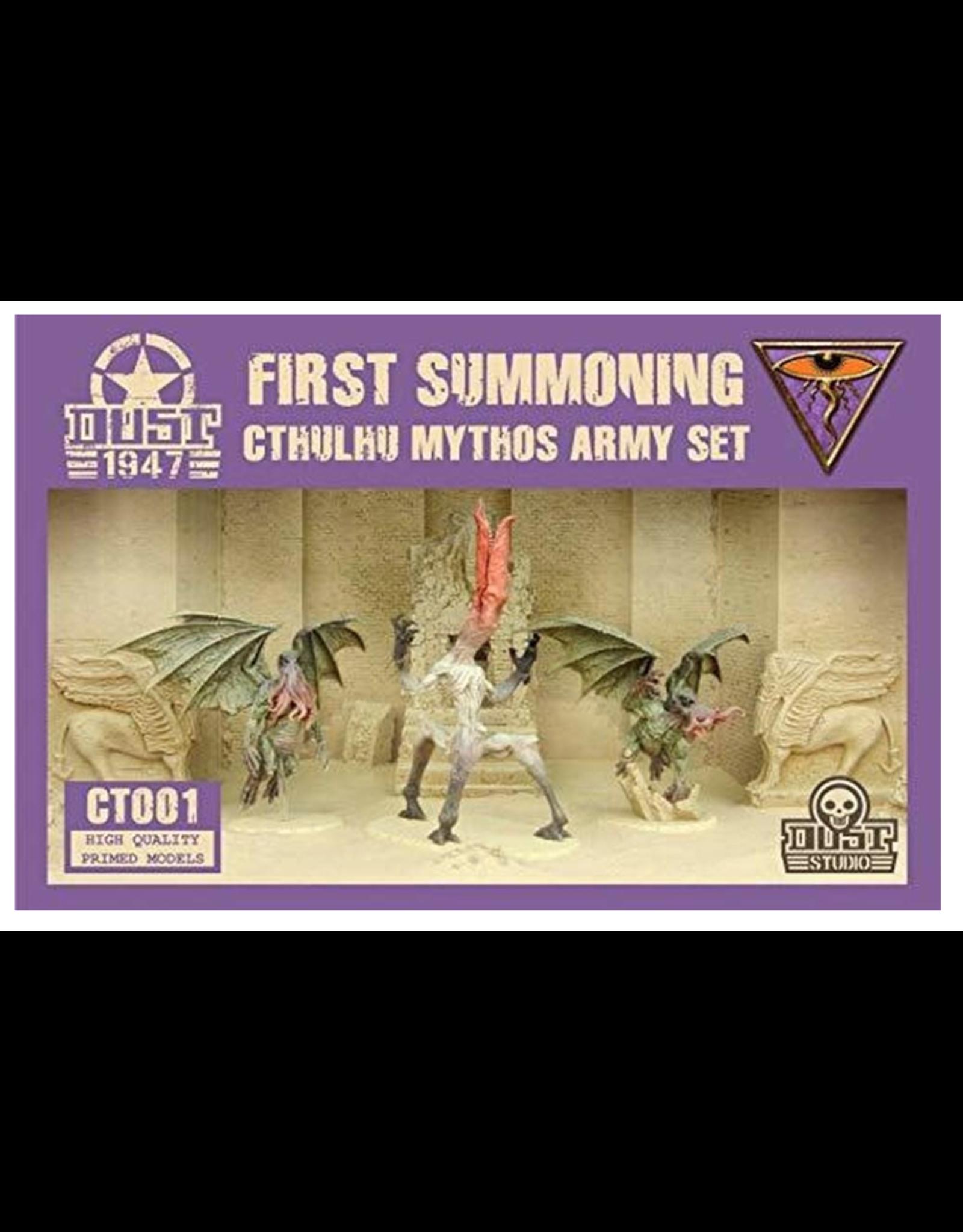 DUST 1947 Cthulhu Mythos Army Set