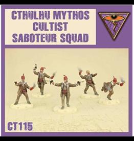 DUST 1947 Cthulhu Mythos Cultist Saboteur Squad