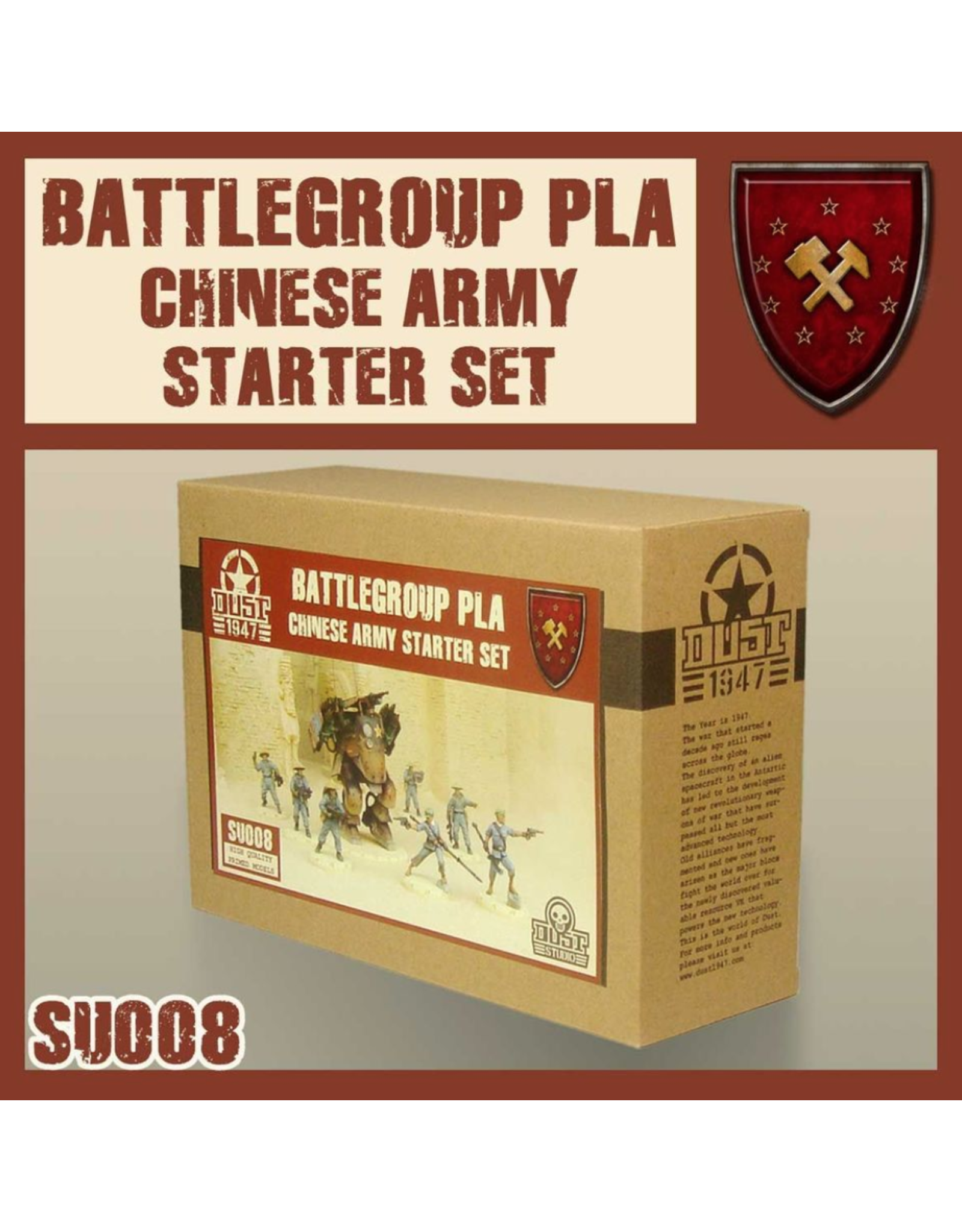 DUST 1947 Chinese Army Starter
