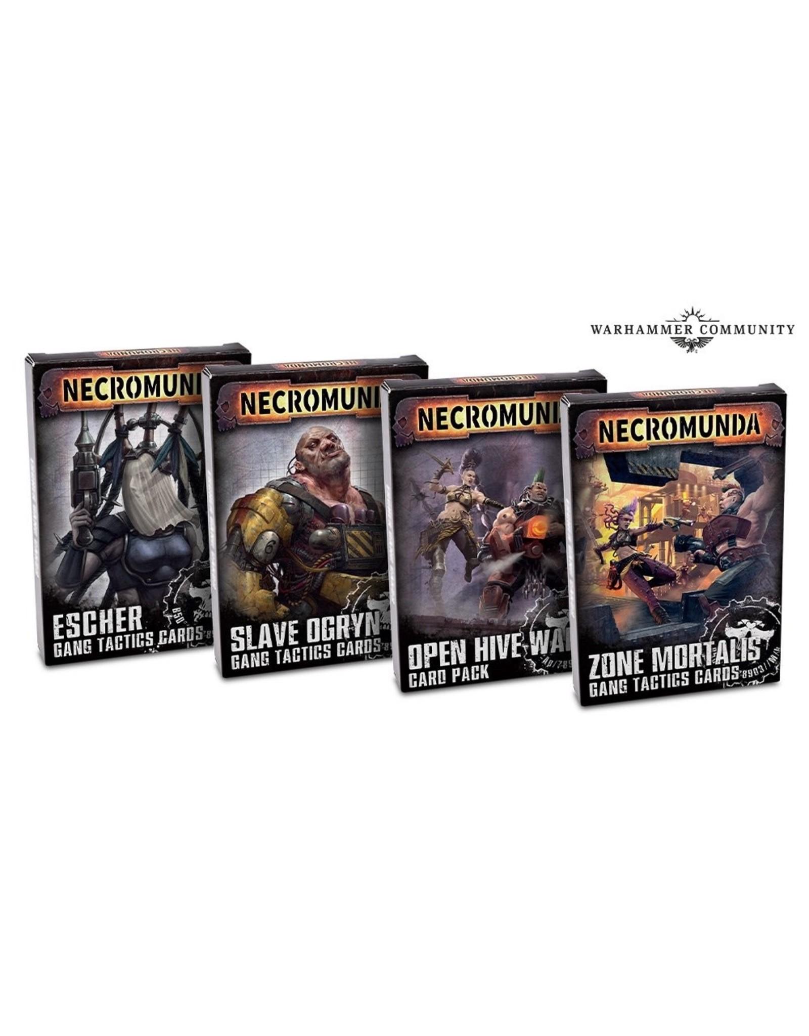 Necromunda Necromunda: Slave Ogryn Tactics Cards