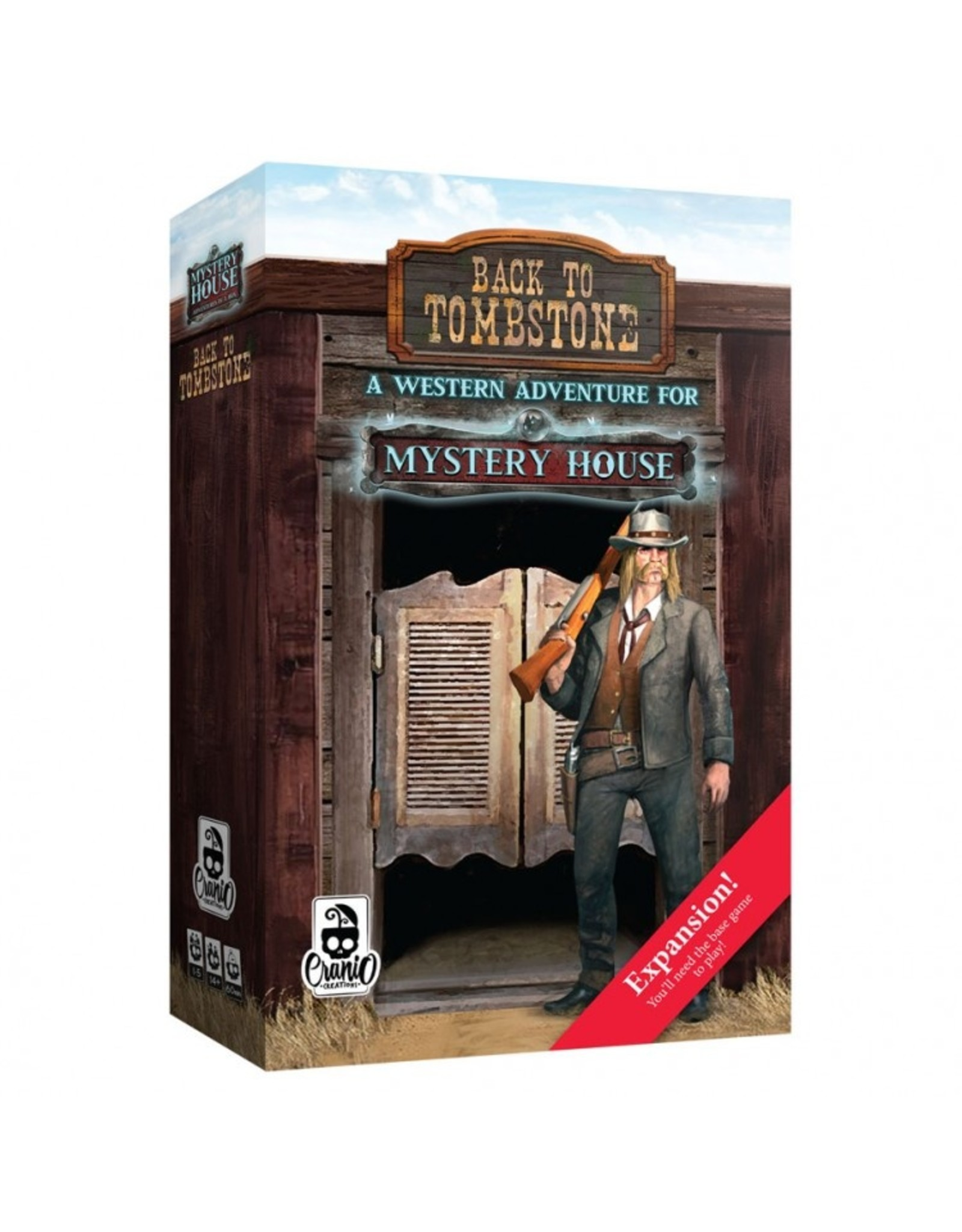 Asmodee Mystery House - Back to Tombstone