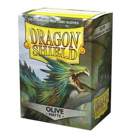 Dragon Shield: Matte Olive (100)