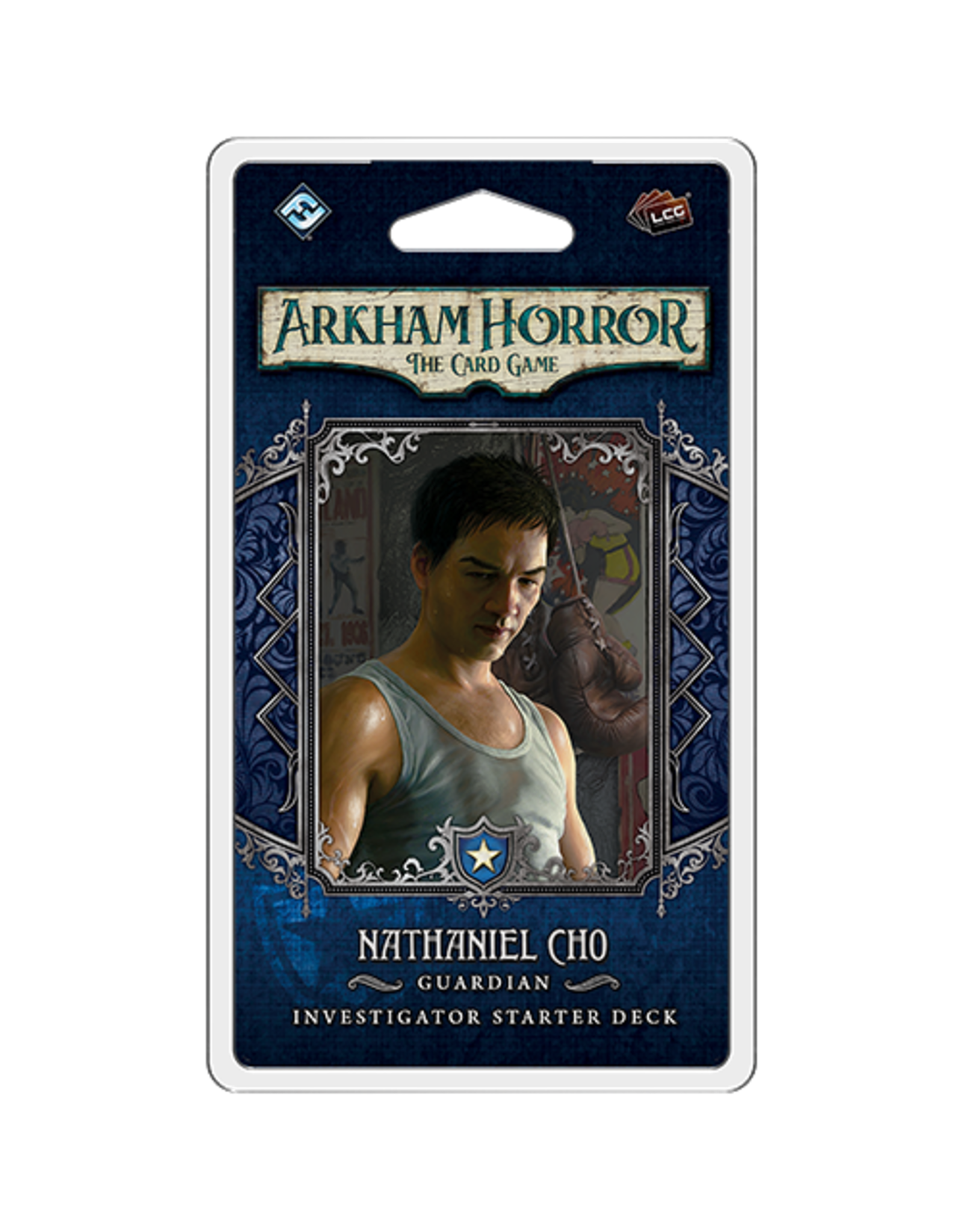 Fantasy Flight Games Arkham Horror TCG: Nathaniel Cho Investigator Starter Deck
