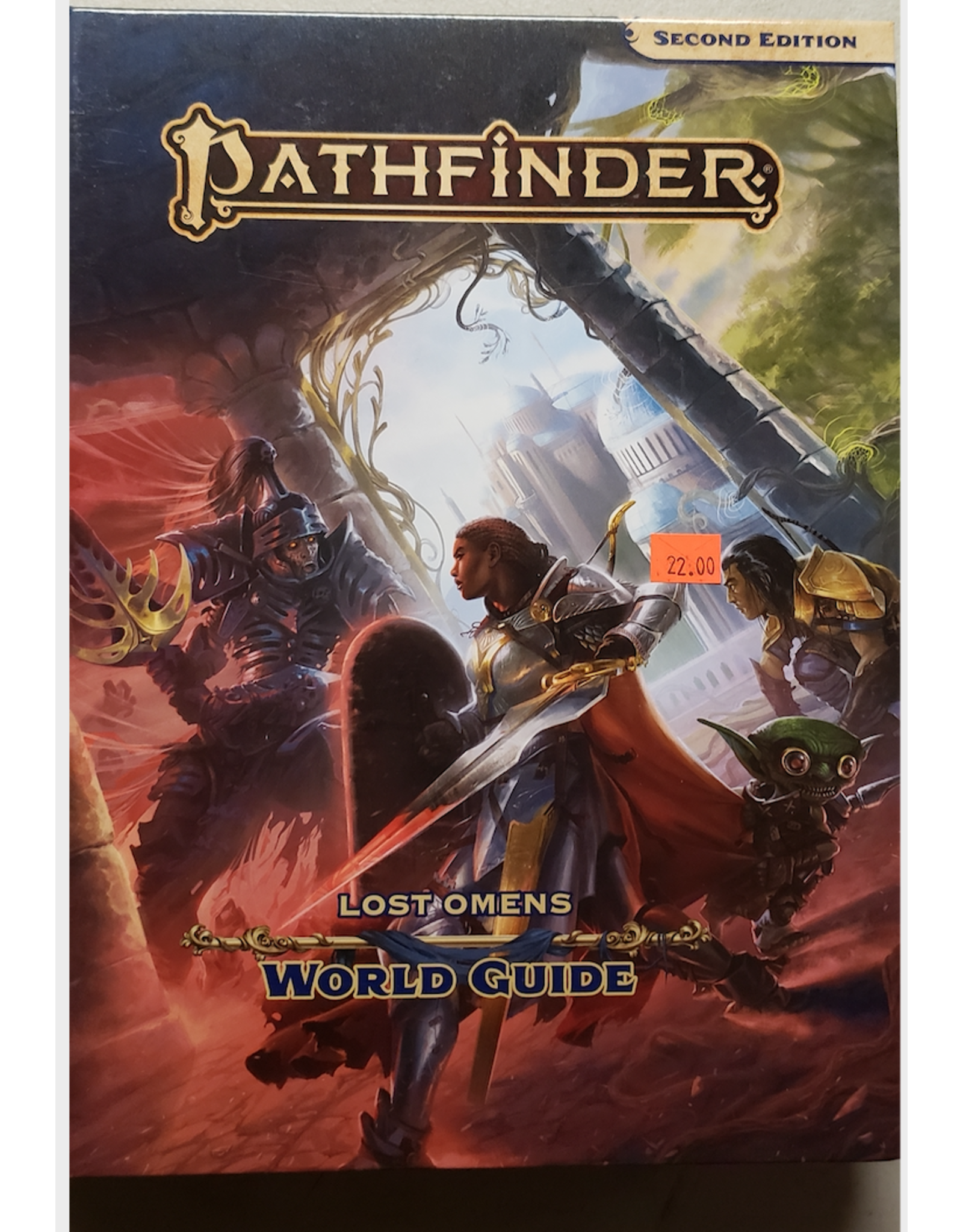 Pathfinder 2E Lost Omens World Guide (Ding & Dent)