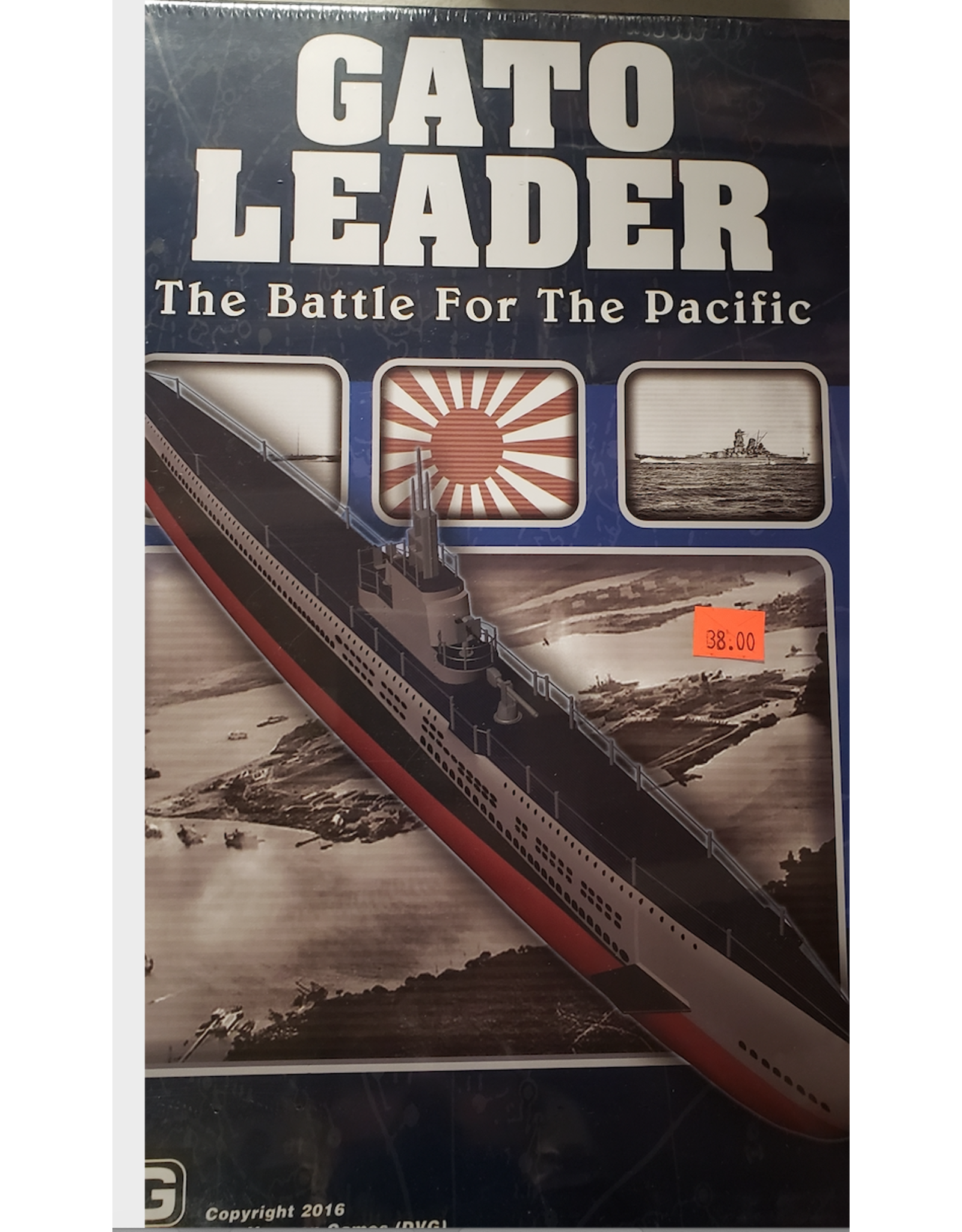 Ding & Dent Gato Leader: The Battle for the Pacific (Ding & Dent)