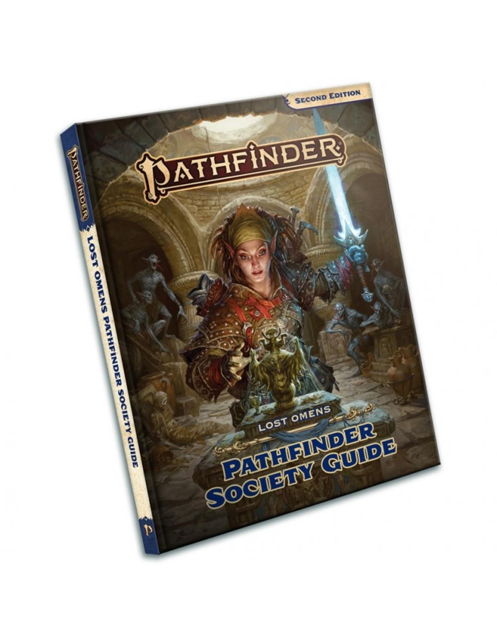 Paizo Publishing Pathfinder 2E: Lost Omens Pathfinder Society Guide
