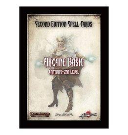 PF2E: Spell Cards: Arcane Basic