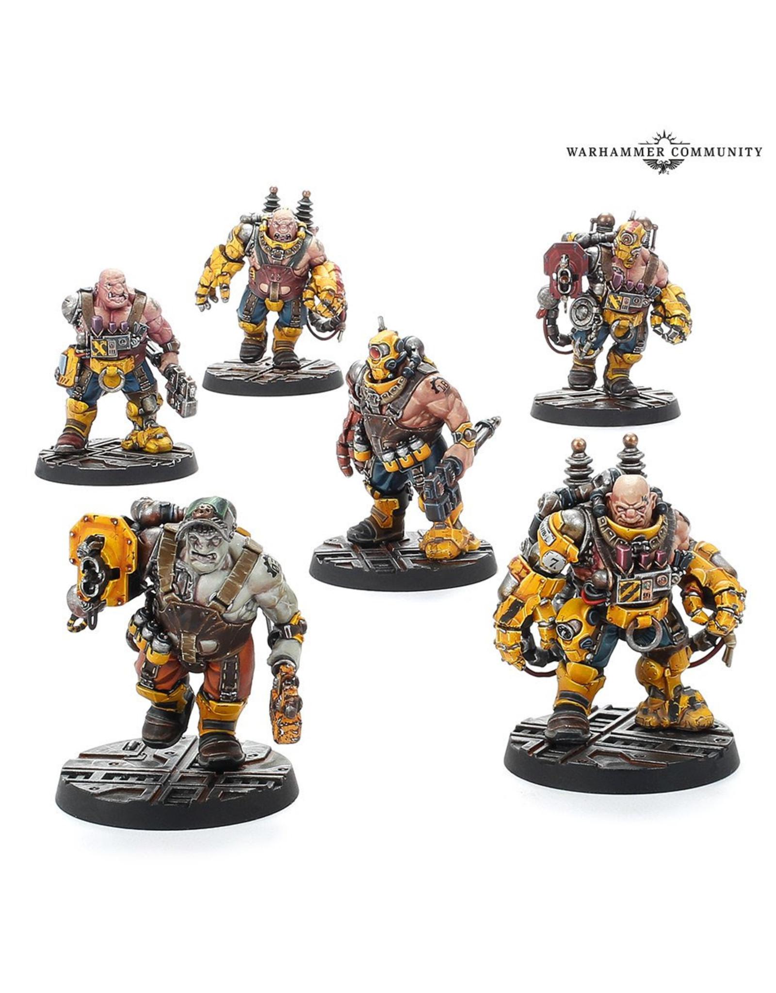 Necromunda Necromunda Slave Ogryn Gang
