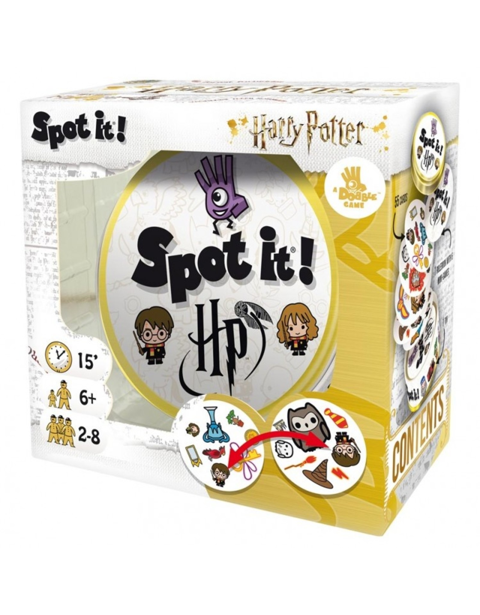 Asmodee Spot It: Harry Potter