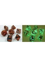Chessex 7-SetCube Lab Dice Nebula Matrix Cpor