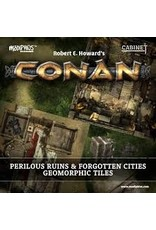 Ding & Dent Conan Perilous Ruins Geomorphic Tiles (Ding & Dent)