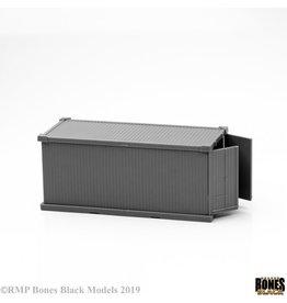 Reaper Bones Black: 20` Shipping Container