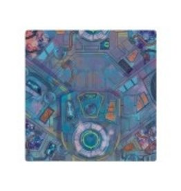 Asmodee Marvel CP: Spaceport Showdown Game Mat