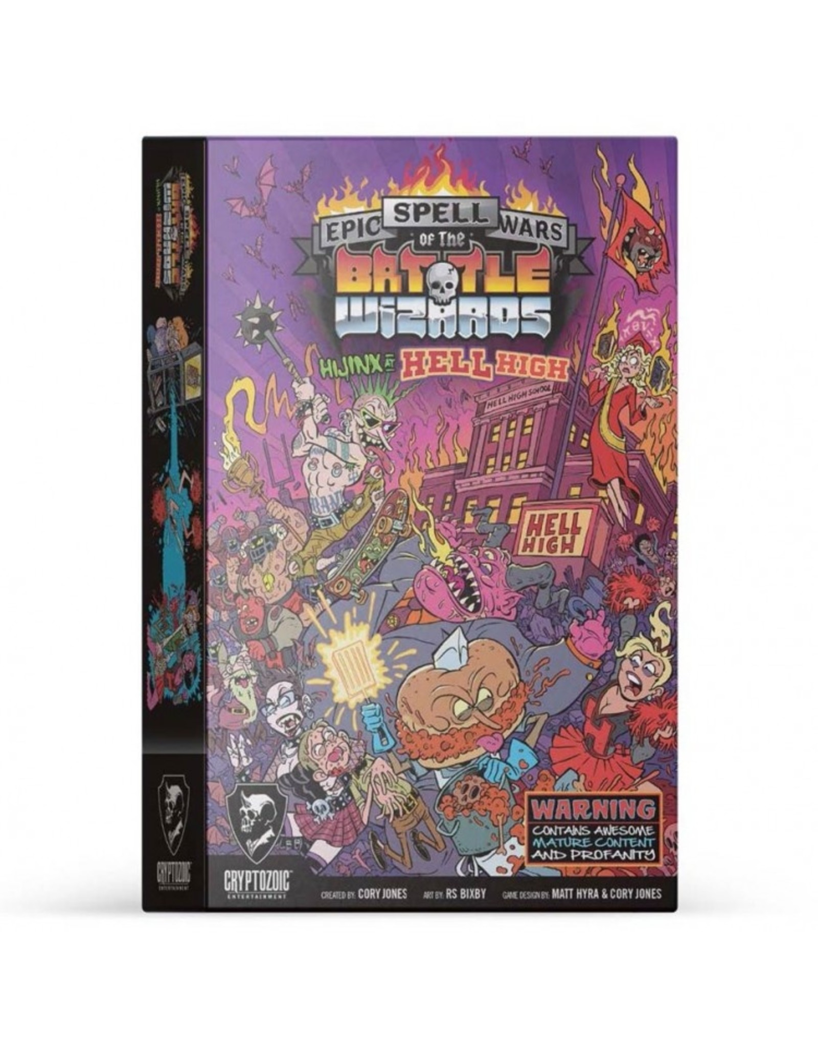 Cryptozoic Epic Spell Wars Hijinx at Hell High