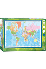 Eurographics Modern Map of the World