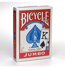 US Playing Card Co. Bicycle Poker Jumbo