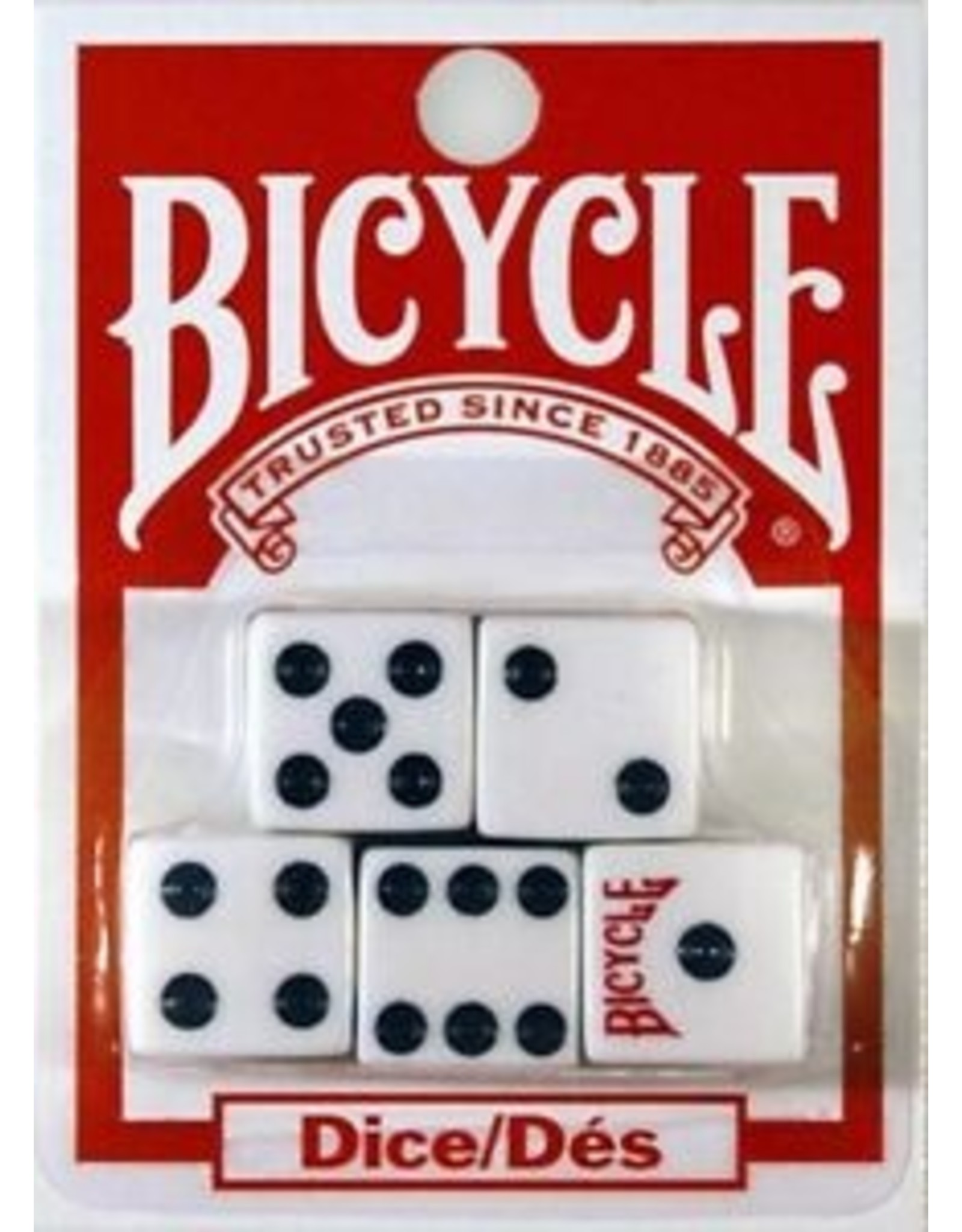 US Playing Card Co. Bicycle 5 Pack of Dice