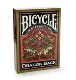 US Playing Card Co. Bicycle Gold Dragon Back