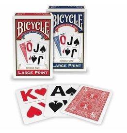 US Playing Card Co. Bicycle Bridge Size Large Print