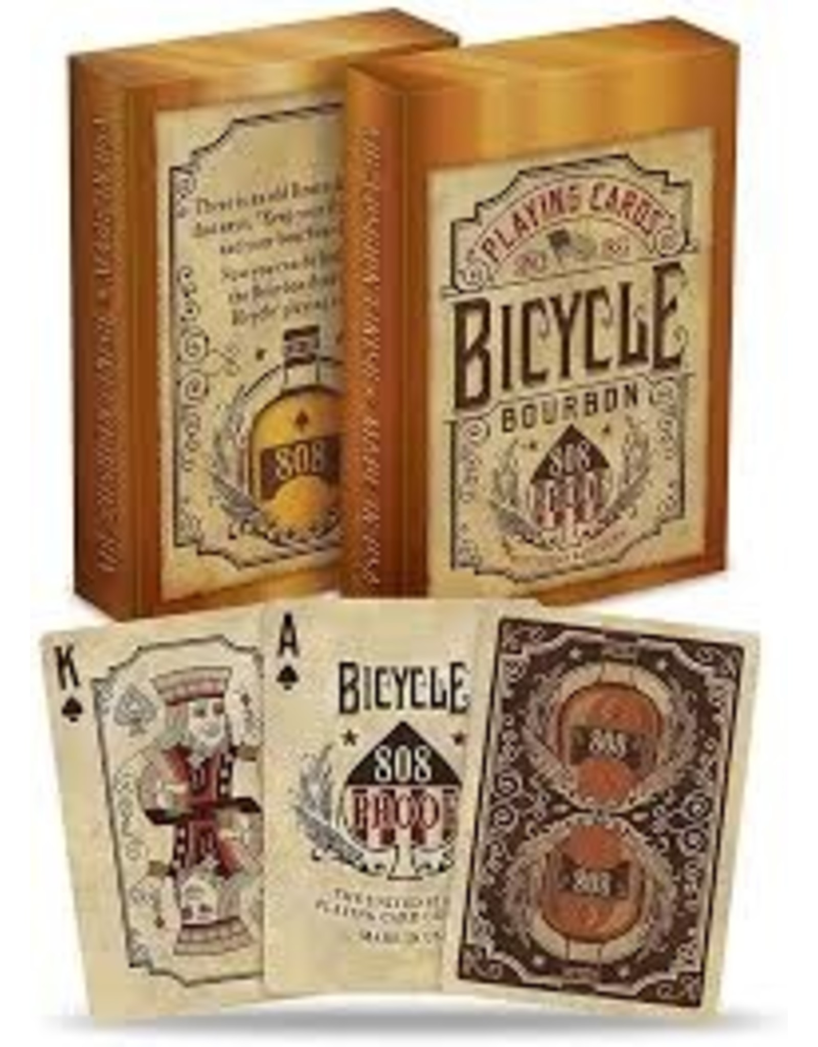 US Playing Card Co. Bicycle Bourbon