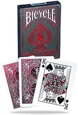 US Playing Card Co. Bicycle Foil Metalluxe Red
