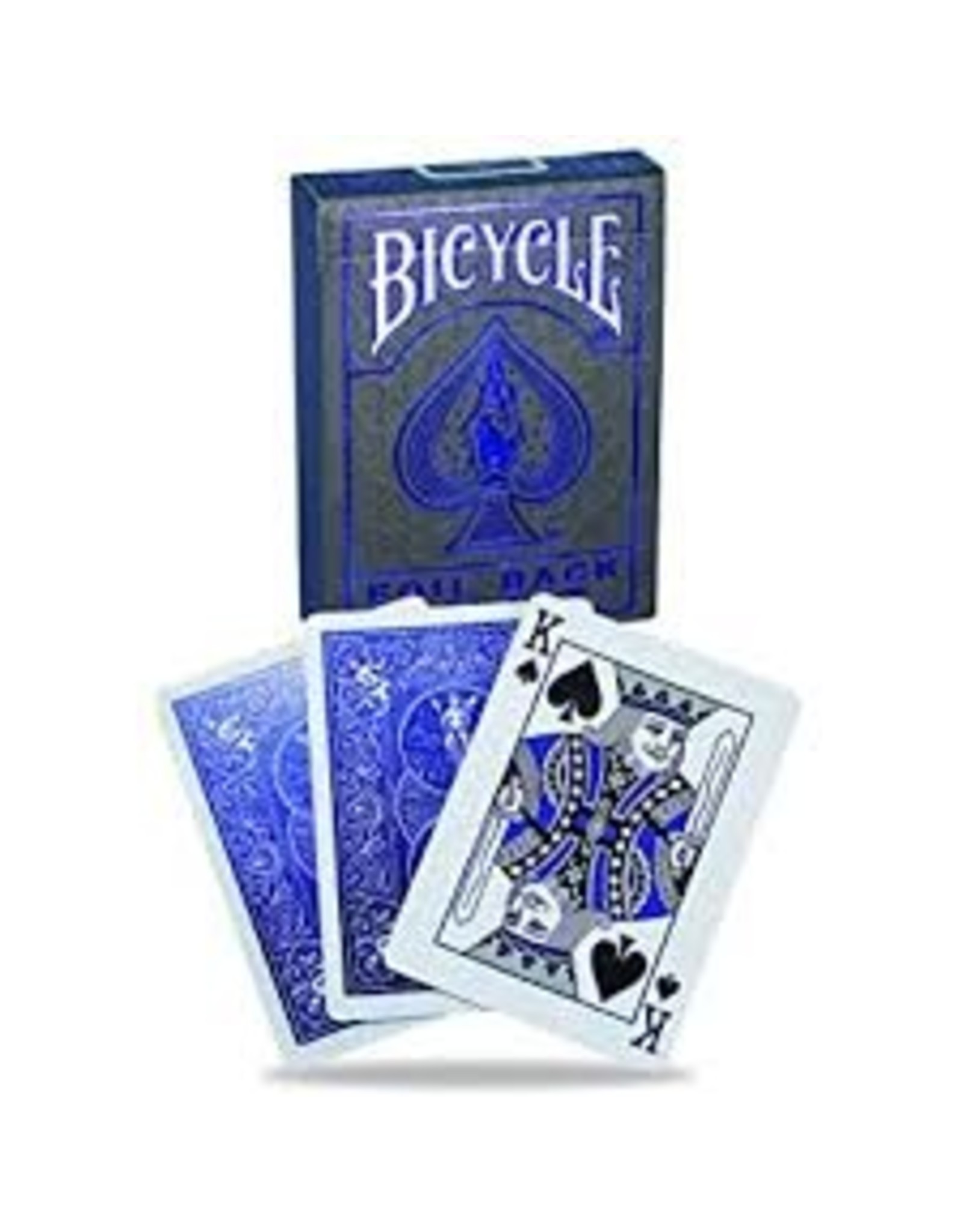 US Playing Card Co. Bicycle Foil Metalluxe Blue