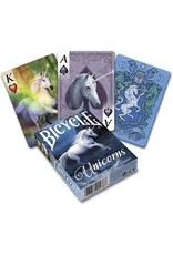 US Playing Card Co. Bicycle Anne Stokes Unicorns