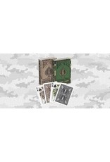US Playing Card Co. Bicycle Poker Rider Back Tactical Field Mix Brown Green
