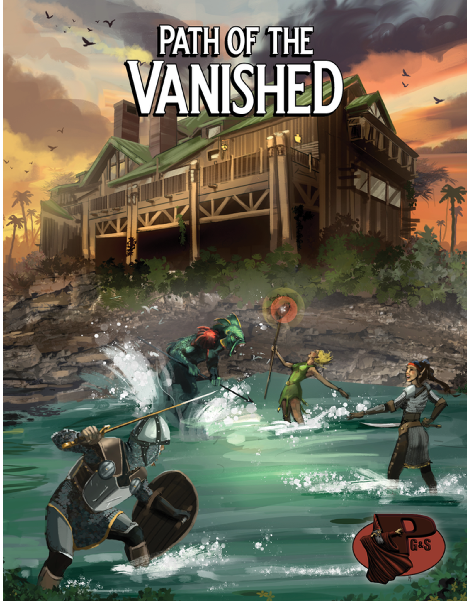 Path of the Vanished: A 5e & B/X RPG Campaign (Pre Order)