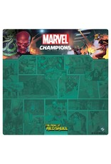 Asmodee Marvel: Red Skull 1-4 Player Game Mat