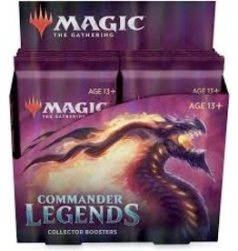Magic MTG: Commander Legends: Collector Booster Box (Pre Order)