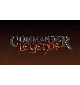 Magic MTG: Commander Legends: Commander Deck Case (6 decks) (Pre Order)