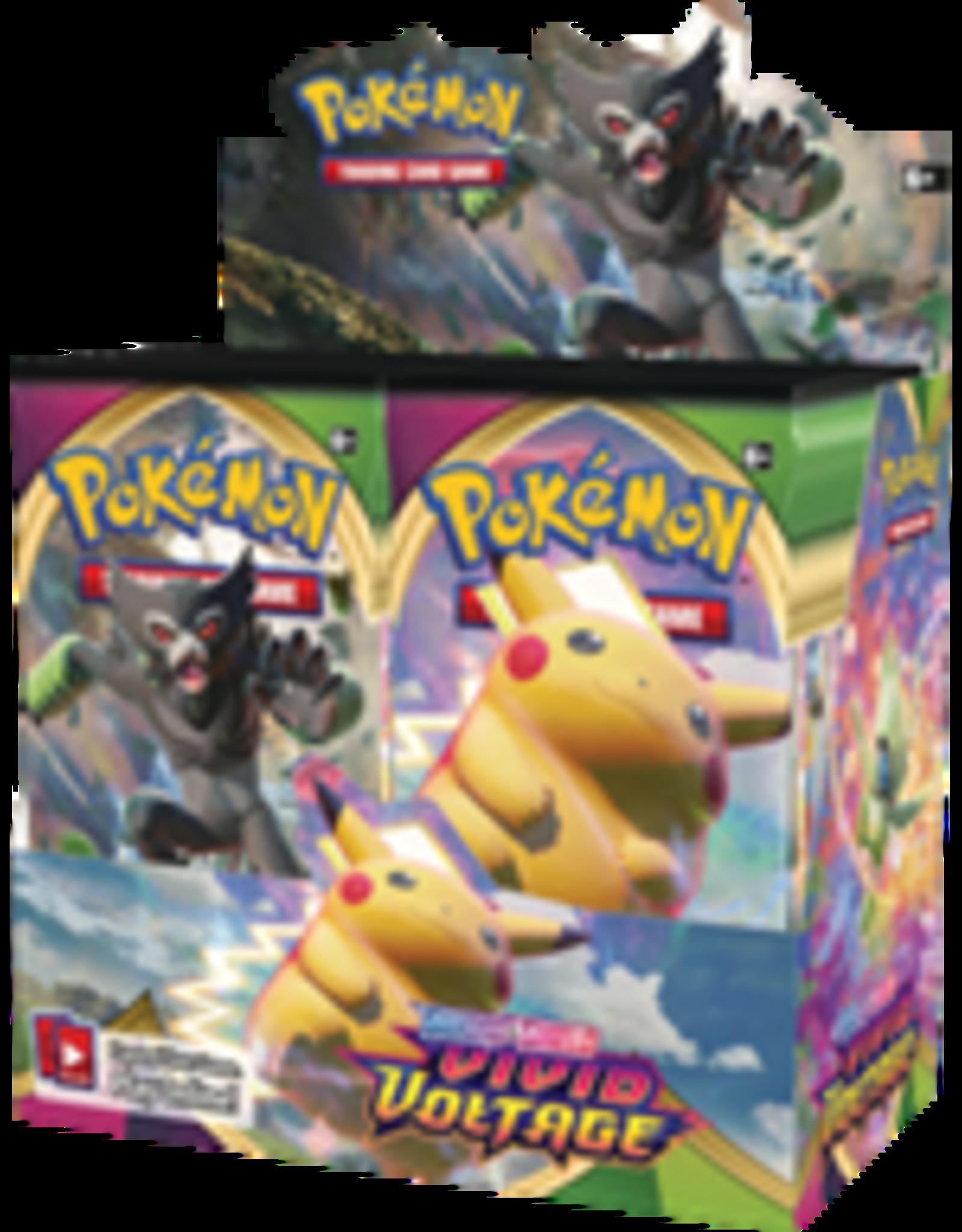 Pokemon TCG: Sword & Shield - Vivid Voltage Booster Display