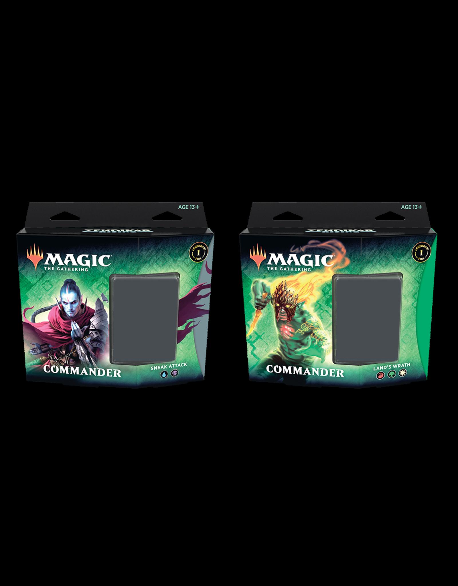 Magic Magic the Gathering: Zendikar Rising Commander Deck - Land's Wrath