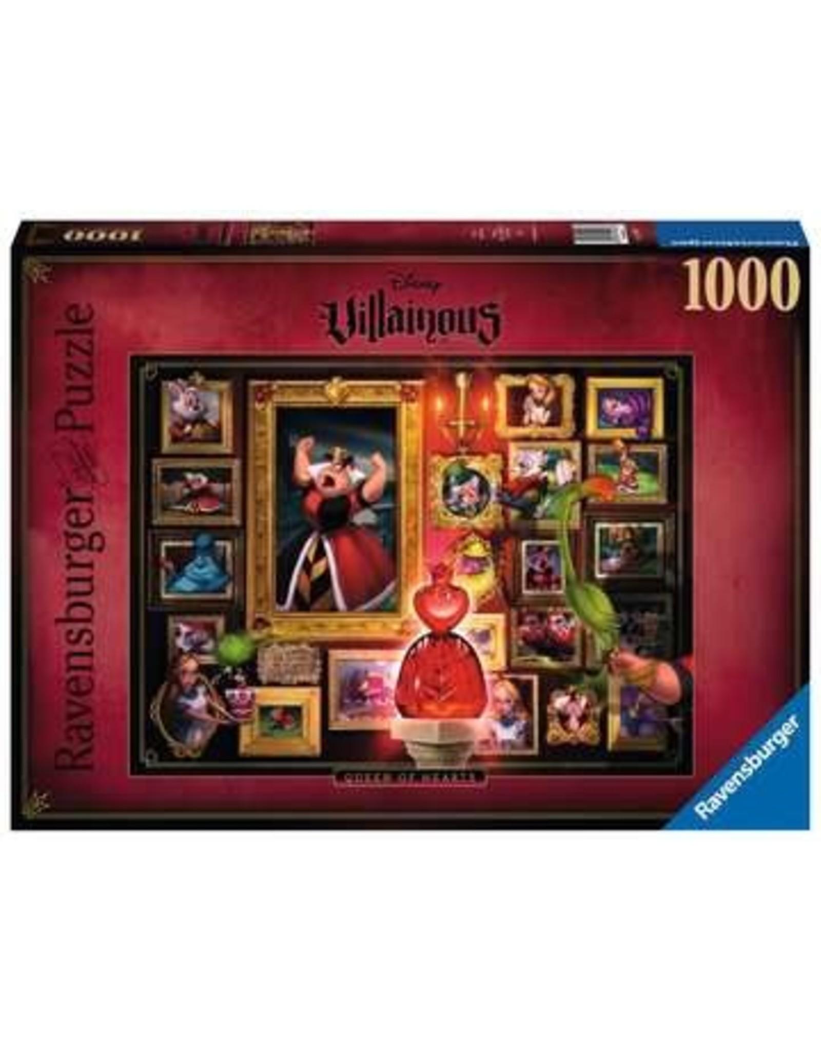 Ravensburger Disney Villainous Queen of Hearts, 1000pc