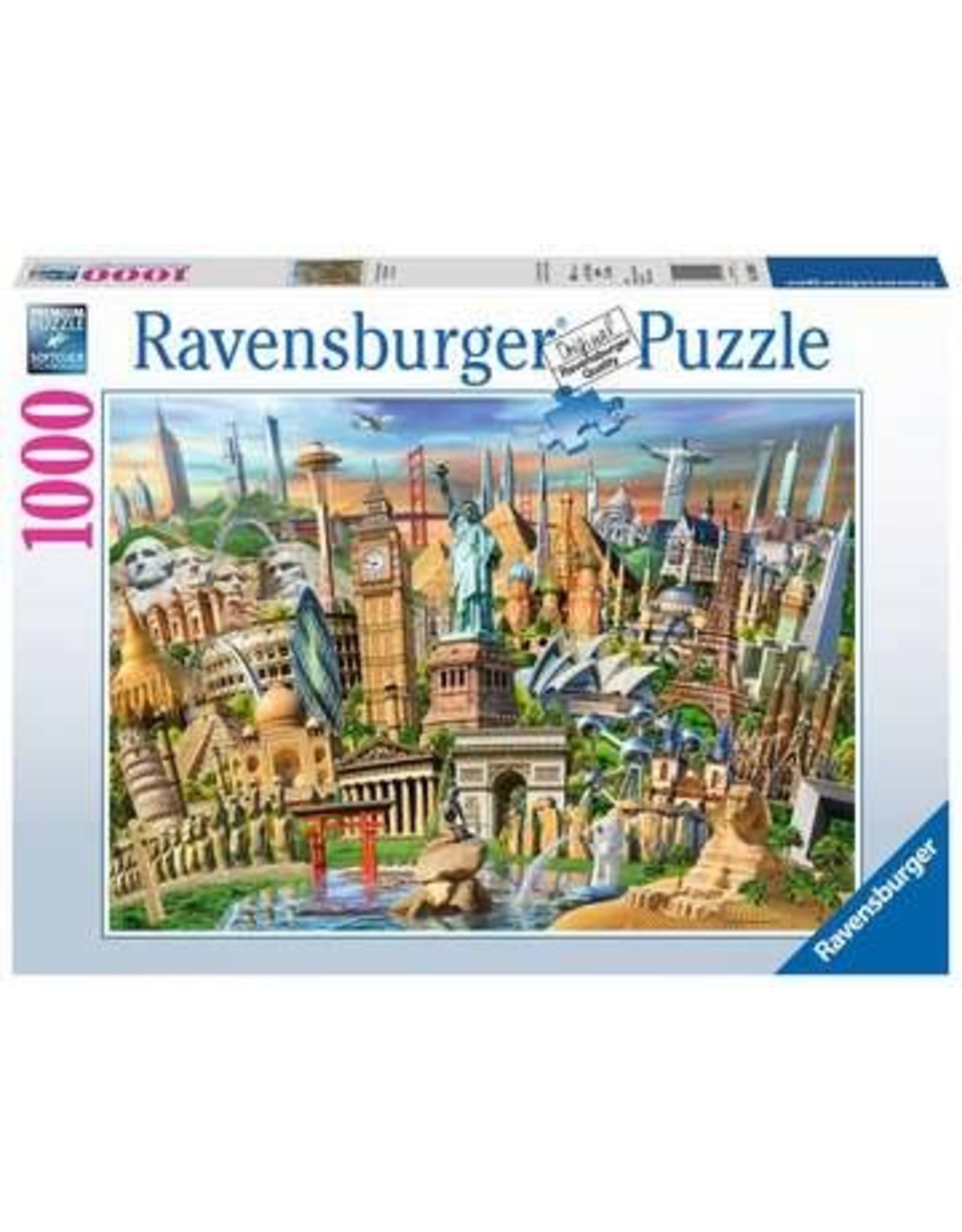 Ravensburger World Landmarks 1000 pc