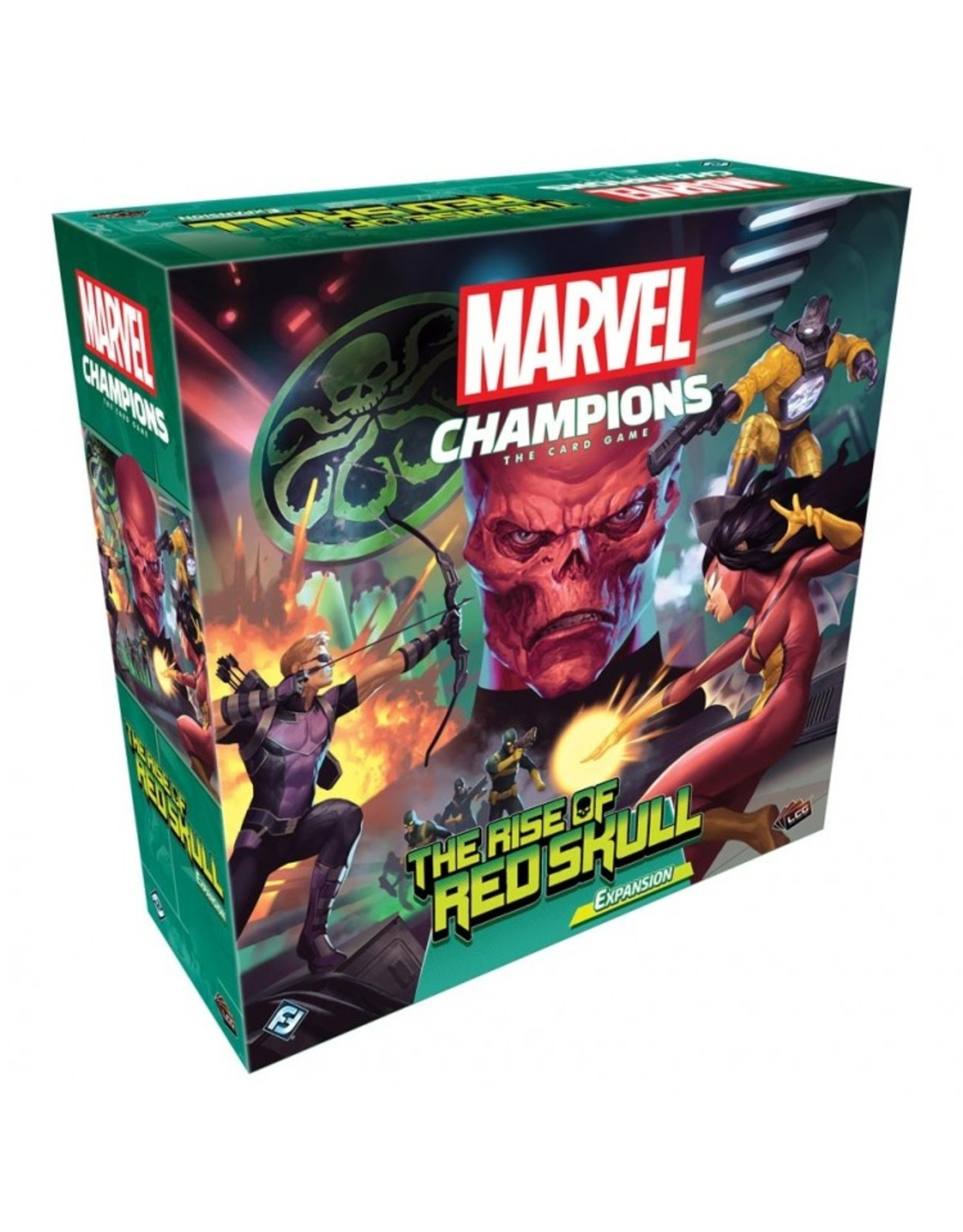 Fantasy Flight Games Marvel Champions LCG: The Rise of Red Skull